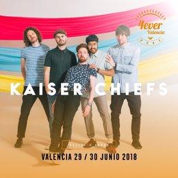 Los Kaiser Chiefs se apuntan al 4ever Valencia Fest