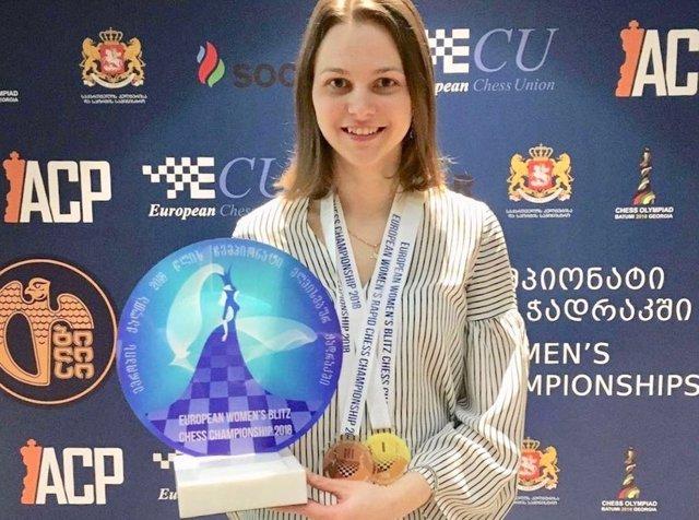 Anna Muzychuk gana un título europeo