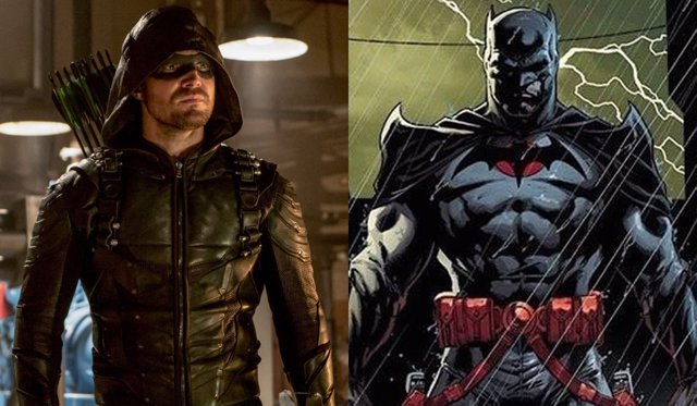 Stephen Amell y Batman