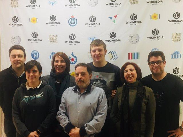 Nueva Junta Directiva de Wikimedia España 2018