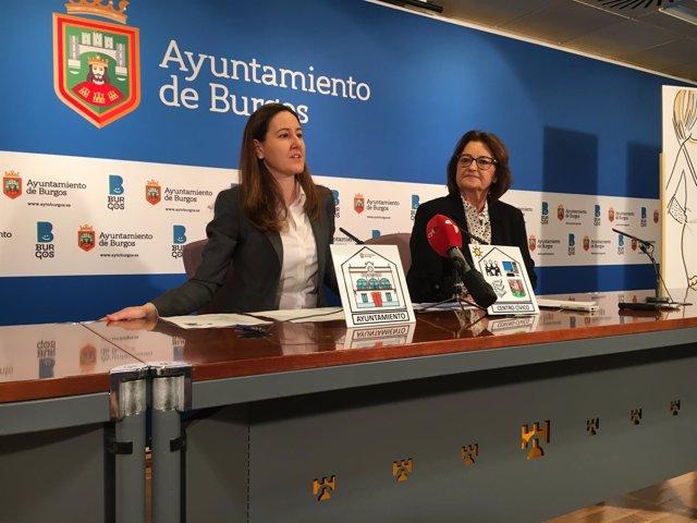 Gema Conde y Simona Palacios.