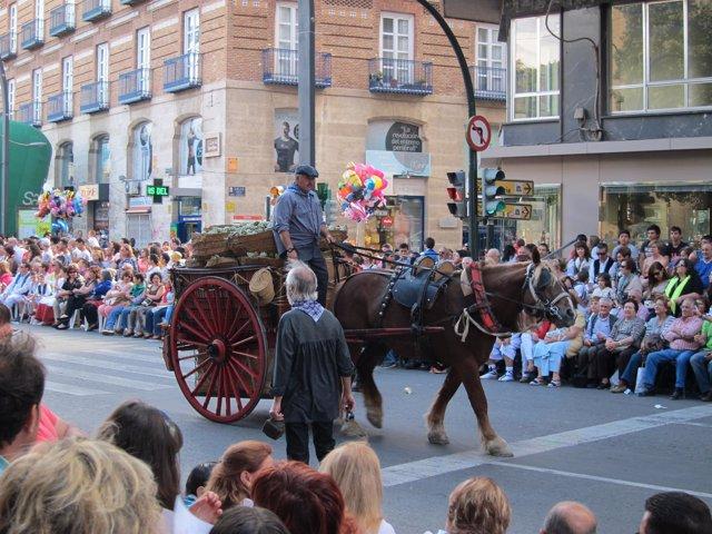 Desfile del 'Bando de la Huerta' 2014