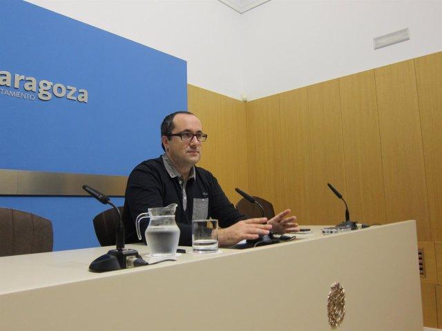 El consejero municipal de Servicios Públicos y Personal, Albero Cubero.