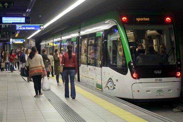 Metro Málaga, Estación El Perchel