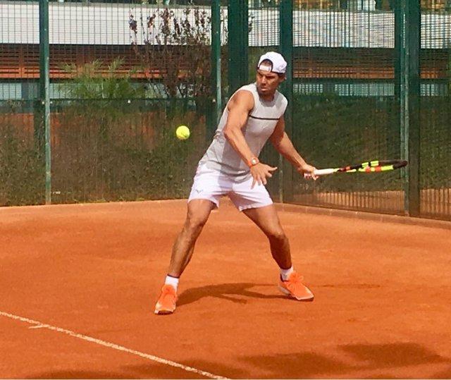 Rafa Nadal Sporting Club de Tenis de Valencia