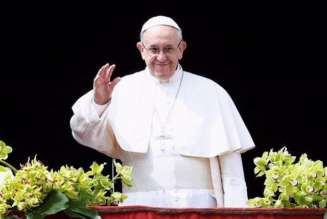 El Papa Francisco, durante el 'urbi et orbe' del pasado domingo
