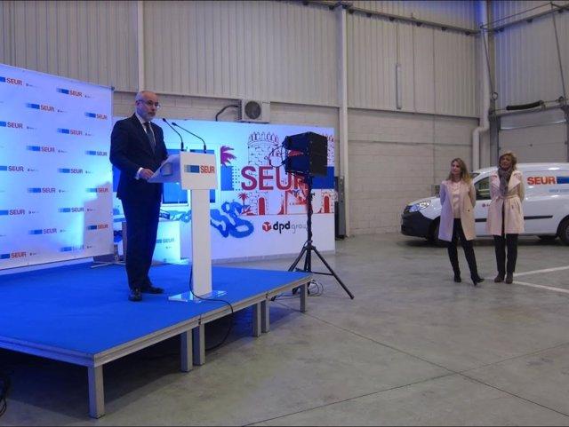 Nuevo Centro operativo de SEUR en Badajoz