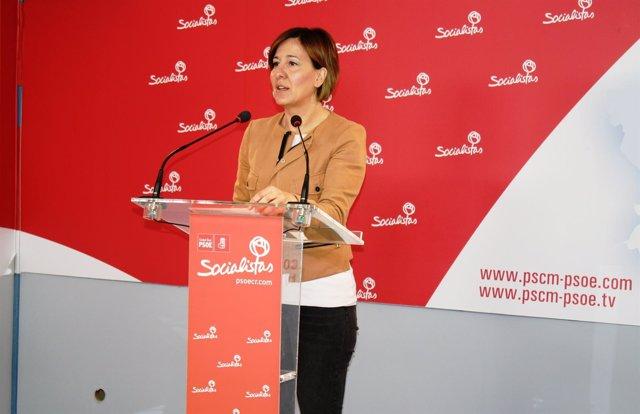La portavoz del PSOE en las Cortes de Castilla-La Mancha, Blanca Fernández