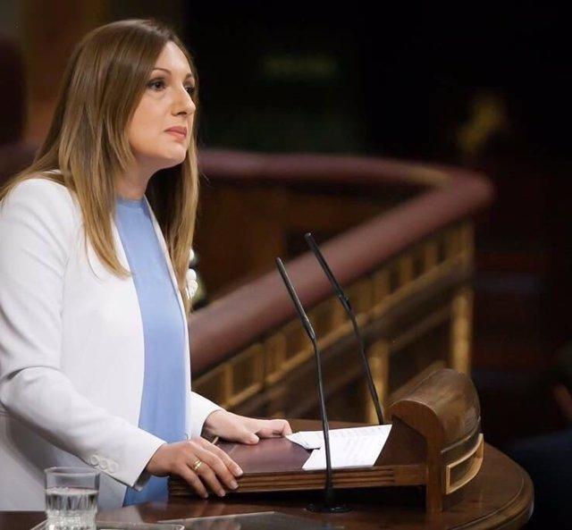 La portavoz de Agricultura del PP en el Congreso, Ascensión Carreño