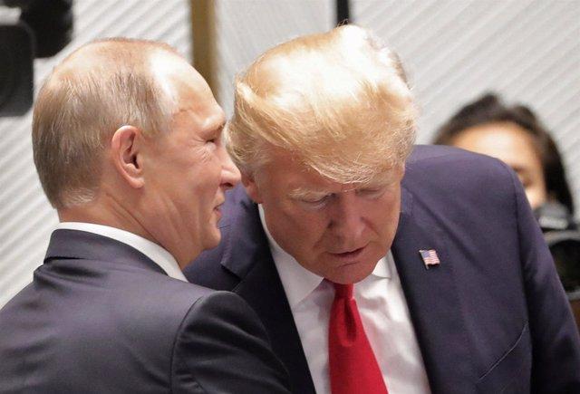Putin y Trump en Vietnam