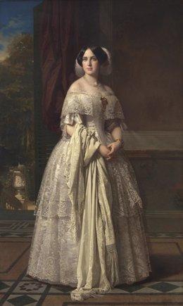 Josefa del Águila Ceballos, luego marquesa de Espeja, obra de Federico de Madraz
