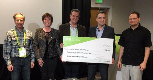 Premio grupo investigación UMA sobre tsnamis en Silicon Valley