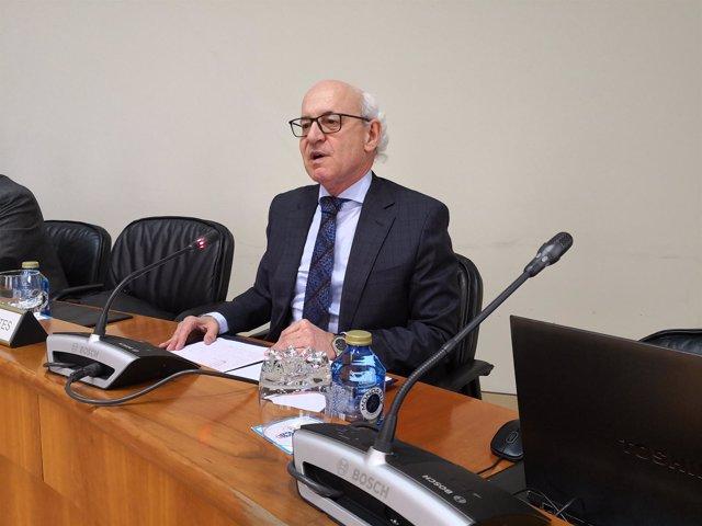 El fiscal superior de Galicia, Fernando Suanzes.