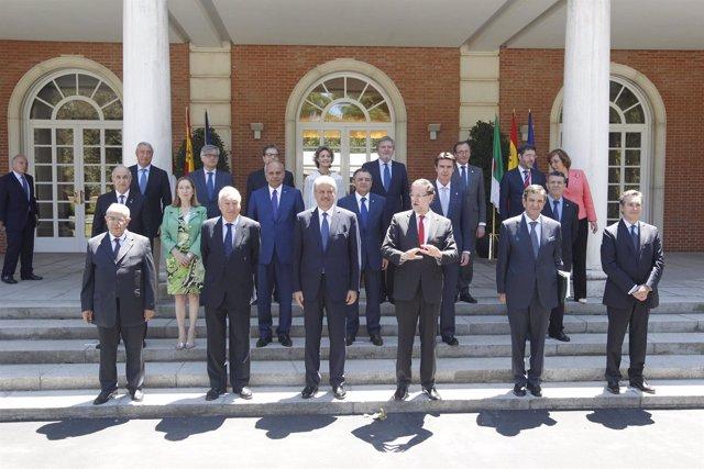 Foto de familia de la VI RAN España-Argelia