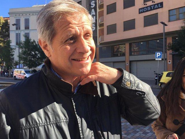 El presidente del PP en el Ayuntamiento de Barcelona, Alberto Fernández