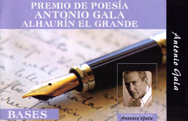 Certamen De Poesía Internacional Alhaurín El Grande Antonio Gala