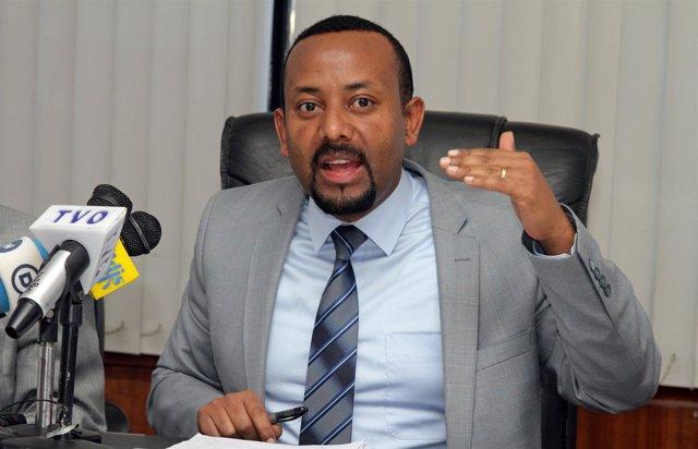 Abiy Ahmed, líder del FDRPE y primer ministro de Etiopía