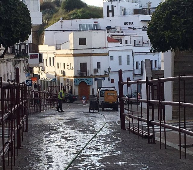 Calle de Arcos de la Frontera (Cádiz)