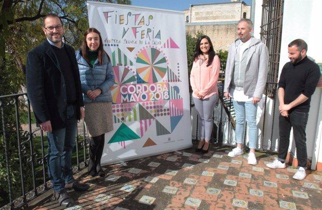 Presentación del cartel del Mayo Festivo de Córdoba