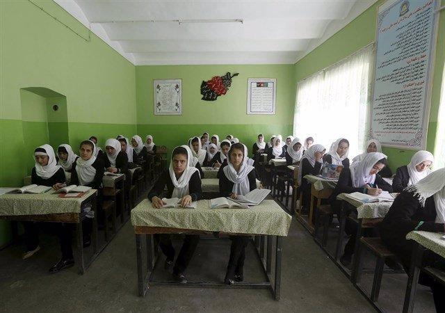 Alumnas Afganistán