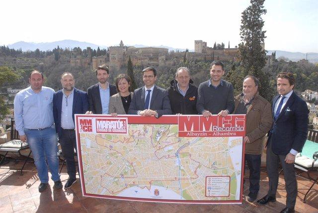 Presentación de la Media Maratón de Granada 2018
