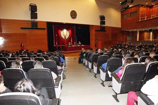 Aula Magna de la Universidad Carlos III de Getafe