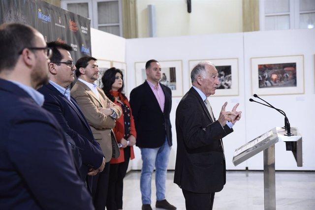 La exposición acerca a la capital la Recreación Histórica 'Canteros y Caciques'.