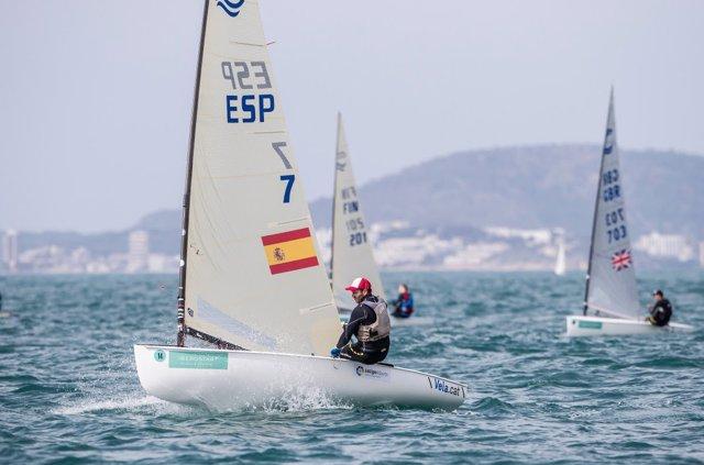 Alex Muscat en el Trofeo Princesa Sofía Iberostar