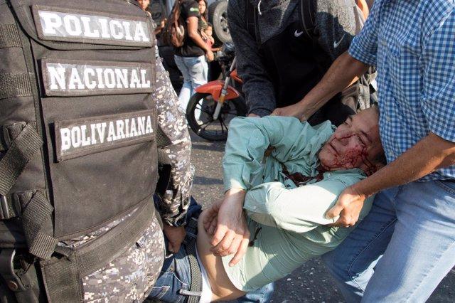 Teodoro Campos, diputado venezolano y jefe de seguridad de campaña de Falcón.