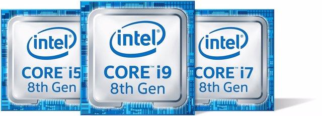 Intel Core de octava generación para portátiles