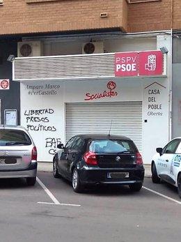 Pintadas sede PSPV