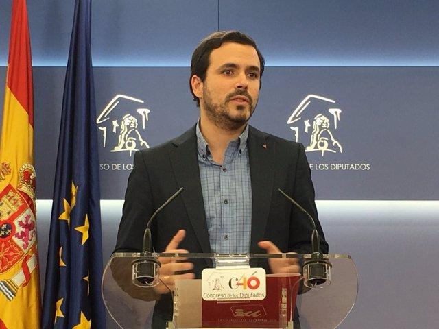 Alberto Gazón, coordinador federal de IU
