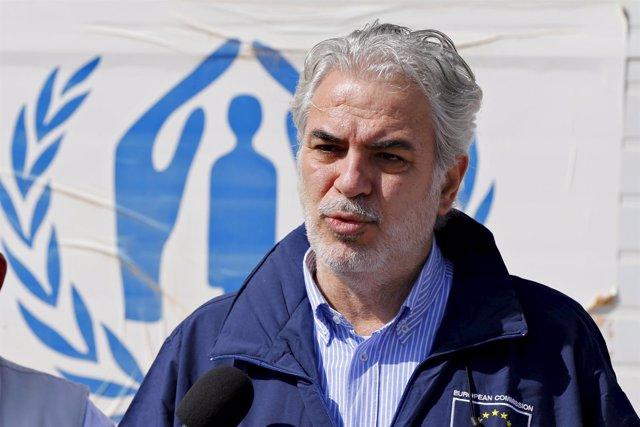 El comisario de Ayuda Humanitaria de la UE, Christos Stylianides