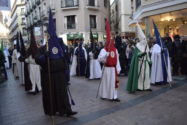 Semana Santa 2018 en Zaragoza.
