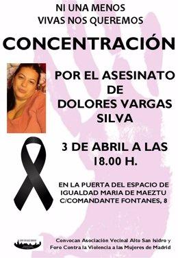 Cártel de la concentración contra el crímen de Dolores Vargas