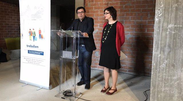 Gerardo Pisarello y Mercedes Vidal