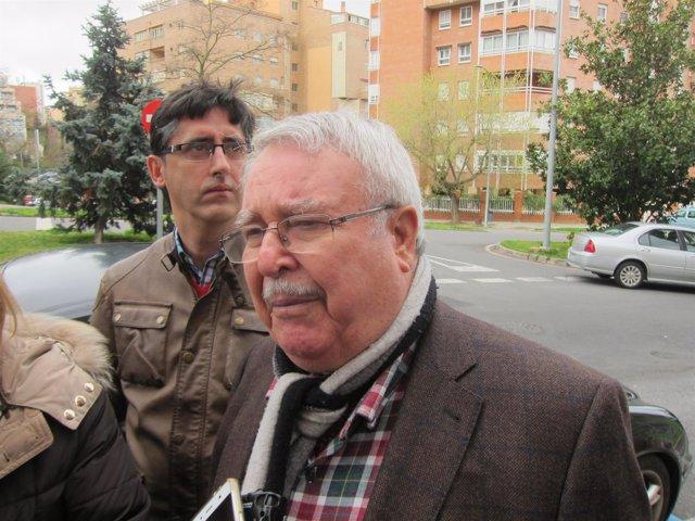 Miguel Salazar, presidente de la AAVV La Madrila de Cáceres