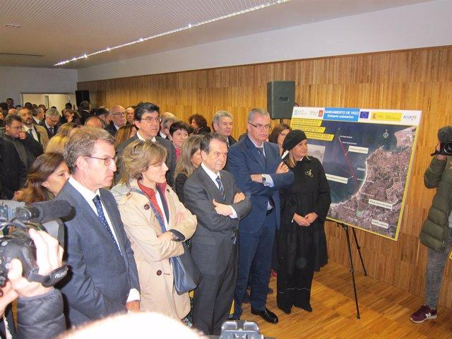 García Tejerina inaugura la nueva EDAR de Vigo