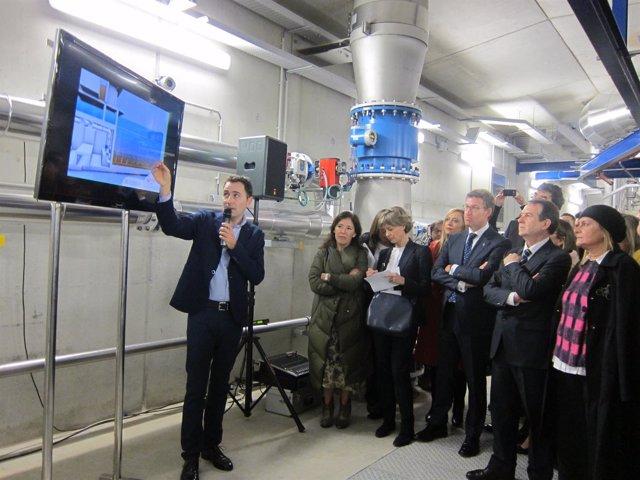 Inauguración De La Nueva EDAR De Vigo