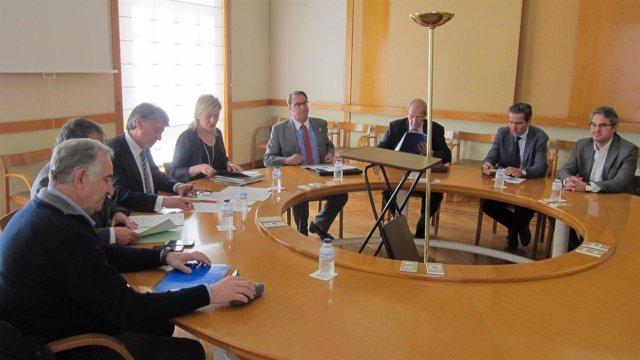 Primera reunión del grupo de trabajo de Comercio Exterior con China