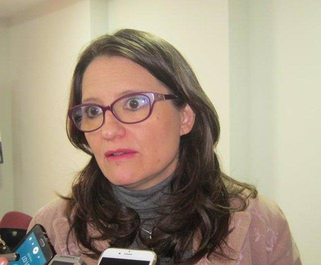La vicepresidenta del Consell, Mónica Oltra, en una imagen reciente