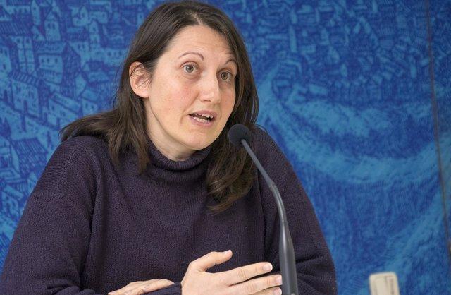 Concejal de Servicios Públicos, Eva Jiménez