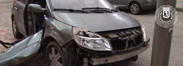 Foto del vehículo localizado