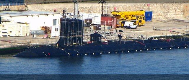 Submarino USS John Walner en Gibraltar