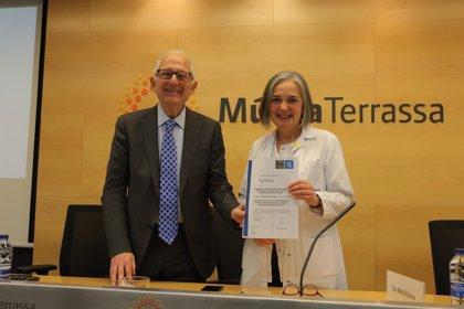 Empresas.- La Unidad de Enfermedad Inflamatoria Intestinal del h. Universitario MútuaTerrassa recibe su acreditación