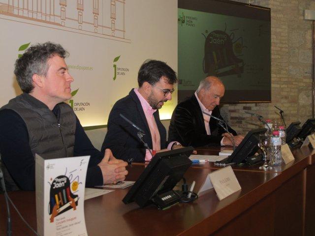 Presentación del concierto inaugural del Premio 'Jaén'