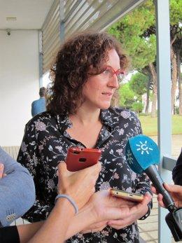La secretaria general de CCOO-A, Nuria López.