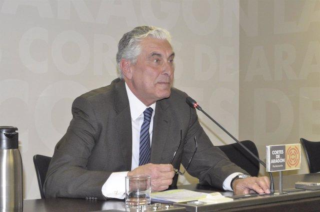 El diputado del PP en las Cortes de Aragón, Antonio Suárez