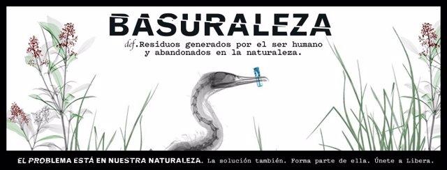 Cover 'Basuraleza' del proyecto LIBERA
