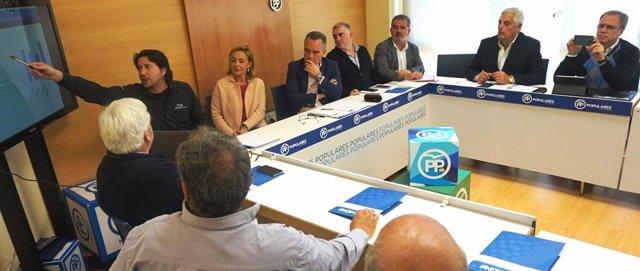 Bueno (PP-A) reunión con sector de puertos andaluces